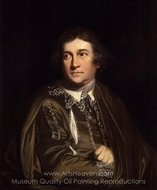 "David Garrick as Kitely in ""Every Man in His Humour"" painting reproduction, Sir Joshua Reynolds"