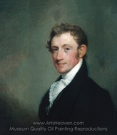David Sears, Jr. painting reproduction, Gilbert Stuart