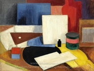 Dead Nature at the Equerre painting reproduction, Roger De La Fresnaye