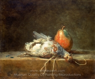 Dead Partridge painting reproduction, Jean Simeon Chardin