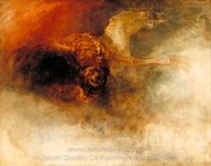 Death on a Pale Horse painting reproduction, Joseph M. W. Turner