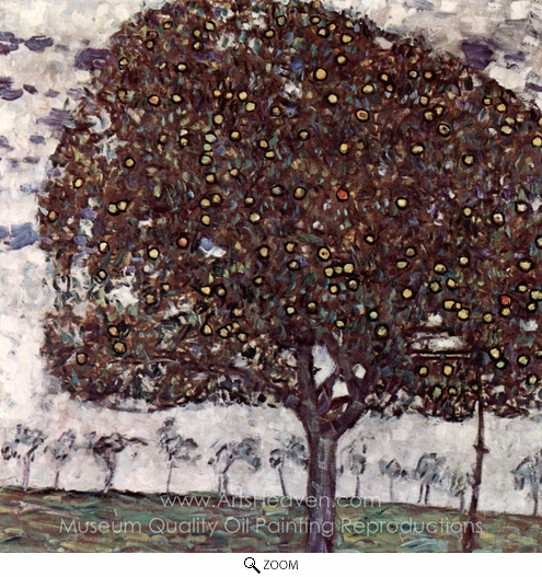 Gustav Klimt, Der Apfelbaum oil painting reproduction