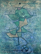Diana painting reproduction, Paul Klee