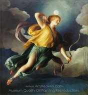 Diana as Personification of the Night painting reproduction, Anton Raphael Mengs