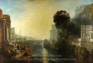Dido Building Carthage painting reproduction, Joseph M. W. Turner