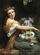 Dionysia painting reproduction, Pierre-Auguste Cot