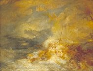 Disaster at Sea painting reproduction, Joseph M. W. Turner