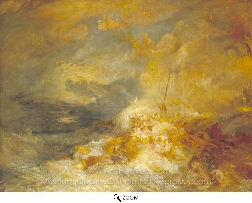 Joseph M. W. Turner, Disaster at Sea oil painting reproduction