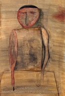Doctor painting reproduction, Paul Klee
