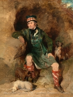 Donald McIntyre painting reproduction, Sir Edwin Landseer