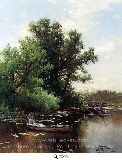 Alfred Thompson Bricher, Drifting oil painting reproduction