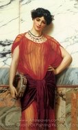 Drusilla painting reproduction, John William Godward