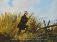 Duck Shooting painting reproduction, Arthur Fitzwilliam Tait