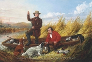 Duck Shooting, Some of the Right Sort painting reproduction, Arthur Fitzwilliam Tait