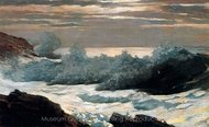 Early Morning, After a Storm at Sea painting reproduction, Winslow Homer