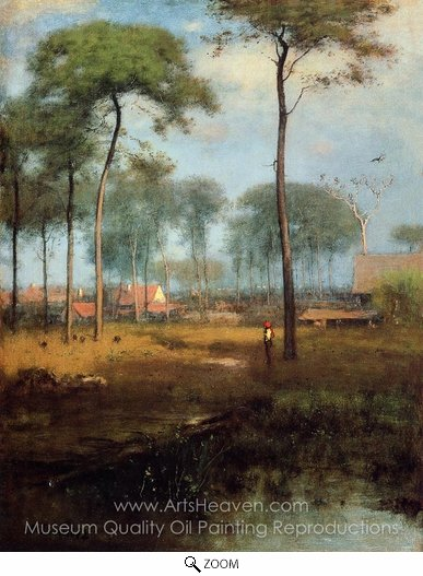 George Inness, Early Morning, Tarpon Springs oil painting reproduction
