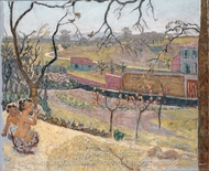Early Spring Little Fauns painting reproduction, Pierre Bonnard