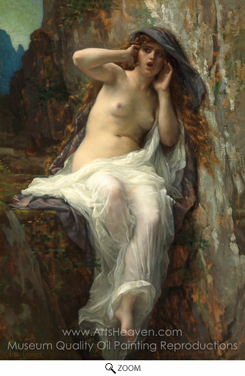Alexandre Cabanel, Echo oil painting reproduction
