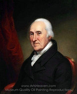 Edward Burd painting reproduction, Charles Willson Peale