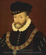 Edward Fiennes de Clinton, First Earl of Lincoln painting reproduction, John Bettes