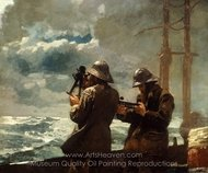 Eight Bells painting reproduction, Winslow Homer