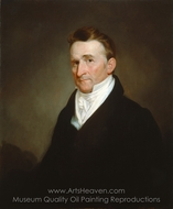 Eliphalet Terry painting reproduction, Samuel F. B. Morse