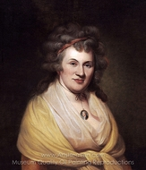 Elizabeth DePeyster Peale painting reproduction, Charles Willson Peale
