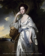 Elizabeth, Lady Blunt painting reproduction, George Romney