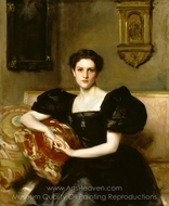 Elizabeth Winthrop Chanler painting reproduction, John Singer Sargent