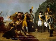 Emperor and the Golden Legion of Spain painting reproduction, Antoine Jean Gros