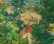 Entrance to a Quarry painting reproduction, Vincent Van Gogh