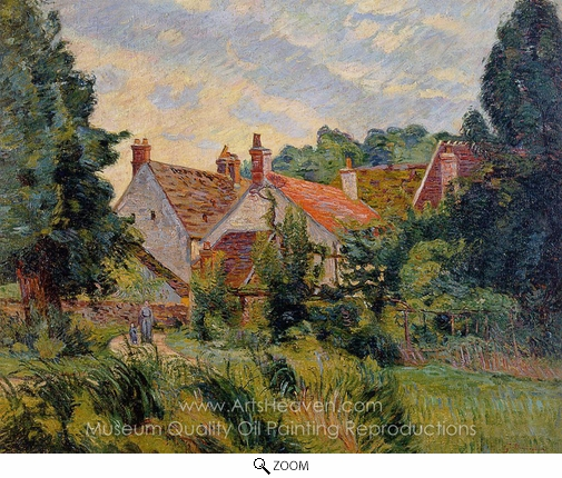 Armand Guillaumin, Epinay-sur-Orge oil painting reproduction