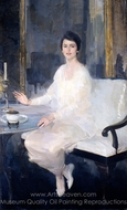 Ernesta painting reproduction, Cecilia Beaux