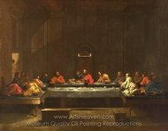 Eucharist painting reproduction, Nicolas Poussin