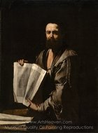 Euclid painting reproduction, Jusepe De Ribera