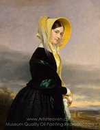 Euphemia White Van Rensselaer painting reproduction, George P. A. Healy