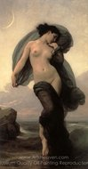 Evening Mood (La Crepuscule) painting reproduction, William A. Bouguereau