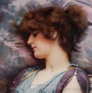 Far Away Thoughts painting reproduction, John William Godward
