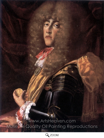 Frans Geffels, Ferdinando Carlo de Gonzague oil painting reproduction