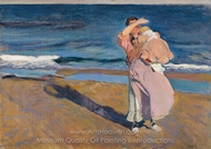 Fisherwomen with Her Son painting reproduction, Joaquin Sorolla