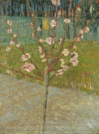 Flowering Almond Tree painting reproduction, Vincent Van Gogh