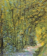 Forest Way painting reproduction, Vincent Van Gogh