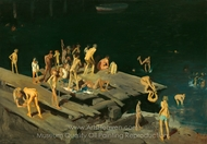 Forty-Two Kids painting reproduction, George Wesley Bellows