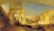 Forum Romanum, for Mr. Soane's Museum painting reproduction, Joseph M. W. Turner