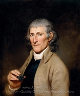Francis Bailey painting reproduction, Charles Willson Peale