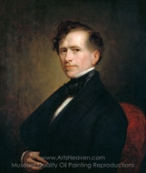 Franklin Pierce painting reproduction, George P. A. Healy