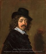 Frans Hals painting reproduction, Frans Hals