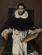 Fray Hortensio Felix Paravicino painting reproduction, El Greco