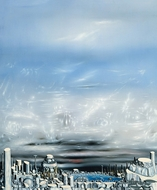 From Green to White painting reproduction, Yves Tanguy