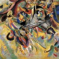 Fugue painting reproduction, Wassily Kandinsky
